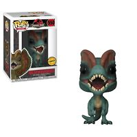 Funko Pop Movies Jurassic Park Dilophosaurus Chase Variant w/Protector