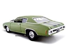 1970 CHEVY CHEVELLE PRO STREET SS 454 GREEN 1:24 MODEL CAR UNIQUE REPLICAS 18675
