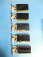 Nvidia Quadro NVS 300 512MB PCI-E Low Profile Video Cards (Lot of 5)