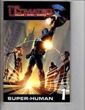 The Ultimates Vol # 1 Super-Human Marvel Comics Graphic Novel TPB Comic Book KS9