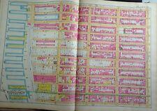 1891 E. Robinson Chelsea Manhattan Original Map Atlas 22 X 32