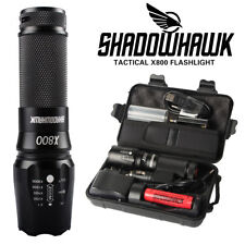 20000lm CREE LED tactical Shadowhawk X800 Flashlight Zoomable Military Torch NEW