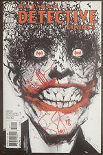 Detective Comics #880 1st print Signed/Remarque (HA!) by Scott Snyder & Jock