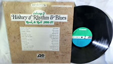 History of Rhythm & Blues LP V/A Rocker Robins Drifters Clyde McPhatter VG++