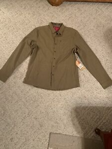 Browning Heritage Collection Men's Long Sleeve Button Up Shirt Large