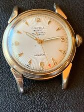 Rare Vintage Mens Swiss Cornell 17j Automatic Gold Tone Watch Running  34mm