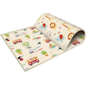 Large Portable Baby Folding Thickened Foam Crawling Mat Waterproof Soft Play Mat