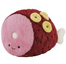 "Comfort Foods Squishable Ham w/ Pineapple 15"" New With Tags! Super Cute! Plush"