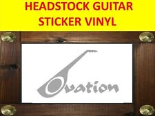OVATION SILVER STICKER AUFKLEBER GUITAR PRODUCT ON SALE UNTIL END OF STOCK