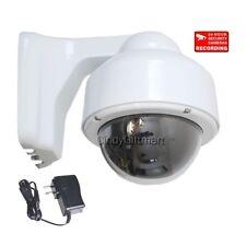 Security Camera Color CCD Outdoor Weatherproof Varifocal CCTV Surveillance 1M4