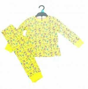 Ex Mothercare Girls Glitter Party Unicorn Jersey Pyjamas Age 2/3 & 3/4 Years NEW