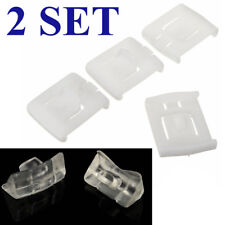 2 Sets 6Pcs Seat Rail Clip Runner Guide Piece For VW Golf MK1 MK2 MK3 Corrado