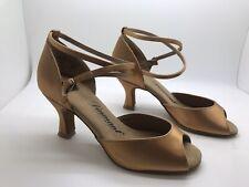 Chaussure de danse de salon pour femme Diamant couleur:bronze taille:35,5