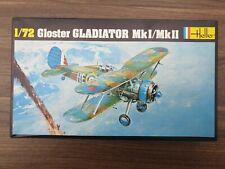 HELLER 1/72 Gloster Gladiator Mk1/Mkll #No 270.  Unmade COMPLETE Kit  MINT