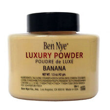 Banana Luxuary Powder 1.5oz/3 oz Bottle Luxury Face Makeup Ben Nye Fine Gift