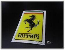 New Ferrari 308 Genuine Emblem Fender Badge Sticker Shield Decal Resin Coated