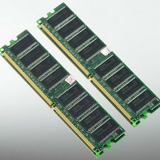 Samsung 2GB 2x1GB 1GB PC2100 DDR266 Low-Density 266MHZ MEMORY DIMM desktop