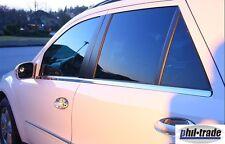 Mercedes ML Klasse W164  Chrom Fensterleisten aus Edelstahl 4-tlg