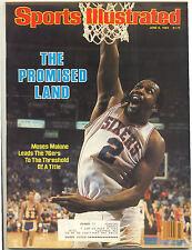 June 6 1983  OLD Moses Malone Philadelphia 76ers Basketball Sports Illustrated
