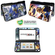 SONIC the hedgehog Vinyle Peau Sticker Pour Nintendo 3DS XL