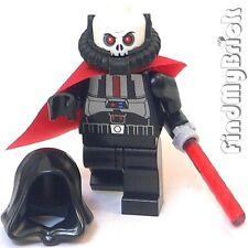 SW262 Lego Star Wars Sith Lord Sith Warrior Custom Minifigure - Black NEW swtor
