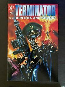 TERMINATOR HUNTERS AND KILLERS #3  DARK HORSE COMICS 1992 VF+