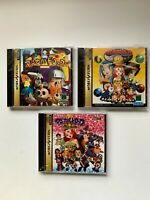 Lot3 SegaSaturn Magical Drop SET (1,2,3) Japan Import Mint SS JP NTSC-J (Japan)