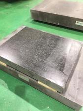 "Gray Granite Surface Plate: 18"" x 24"" x 3"", Grade A"