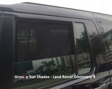 Groovy Car Sun Shades LAND ROVER DISCOVERY 4. Rear Door Windows Mesh. Not SOX