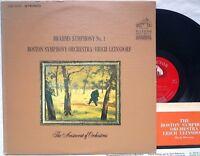 RCA Victor LSC-2711 Brahms SYMPHONY N.1 Leinsdorf 1964 shaded dog STEREO
