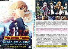 ANIME DVD~ENGLISH DUBBED~Sword Art Online-Ordinal Scale~FREE SHIPPING+GIFT