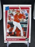 DYLAN CARLSON 2021 Donruss #37 RATED ROOKIE / RC Card! SL Cardinals 🔥⚾️
