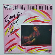 EVANS & FISHER lead singer DAPHNE You set my heart on fire ITALO DISCO 14297