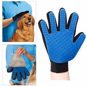 Left Hand Deshedding Glove Gentle And Efficient Pet Dog Cat Massage Grooming