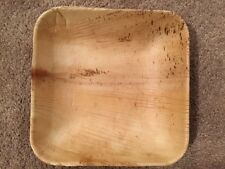 "Biodegradable Dinnerware 8"" Areca Square Bowls (200 Pieces) - FREE SHIPPING"