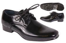 Scarpe nere sintetico per bambini dai 2 ai 16 anni