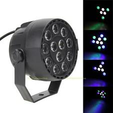 12W RGBW 12LED Stage Light Disco Bar Effect Lighting Show Lamp Laser Projector