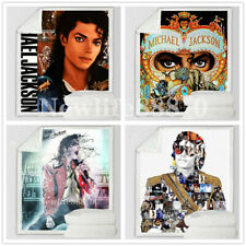 Michael Jackson 3D Print Sofa Couch Quilt Cover Bedding Blanket Sherpa Blanke