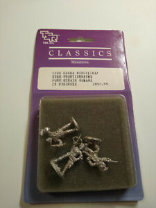1983 TSR GAMMA WORLD STAR FRONTIERS PURE STRAIN HUMANS MINIATURES 5502