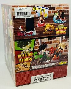 Re-Ment My Hero Academia DESKTOP HEROES BOX=All 6styles Figure Japan Anime