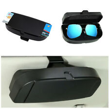 Auto Sun Visor Sunglasses Case Eye Glasses Box Clip Card Phone CD Holder Storage