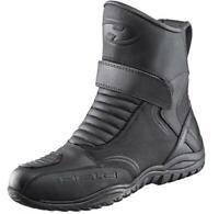 Motorrad Schuhe Andamos Held Größe 43 schwarz Leder wasserfeste Membran NEU