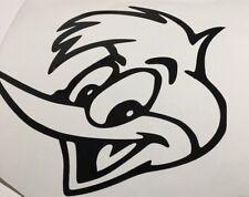 Woody Woodpecker Head, Voiture Décalque/Autocollant pour fenêtres, pare-chocs, Panneaux