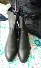 Ladies black Heeled Boots  new from primark Black - UK Size 5