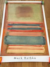 Large Mark Rothko Poster