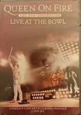 Queen On Fire - Live At The Bowl 2-Disc DVD Collection Dolby Dts Surround SEALED