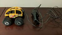 Vintage 1986 Echo Corded Remote Control Mini Frame 17 4x4 Yellow Dune Buggy