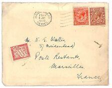 M285 1933 GB * maidenhead Berks * Francia COVER {samwells-copre} PTS