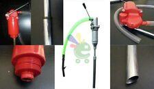 Pompa manuale a stantuffo 25lt/min X fusti travaso gasolio carburante olio nafta