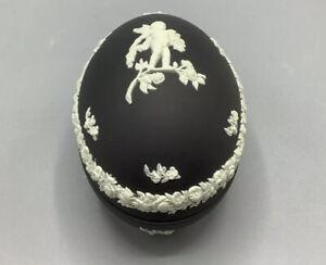 Wedgwood Jasperware Black Egg
